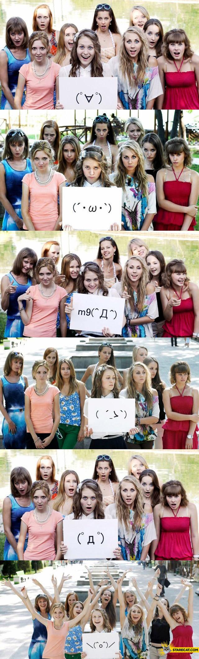 Emoticons live girls