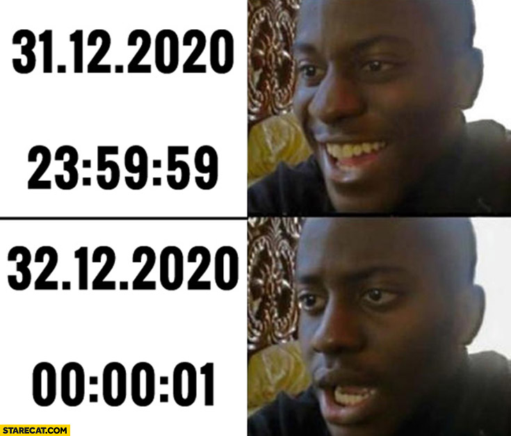 End of the year 2020 actually it does not end
