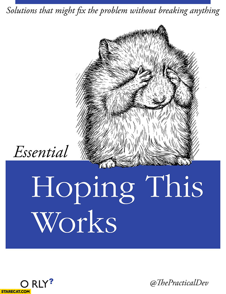 Essential hoping this works O Rly book cover