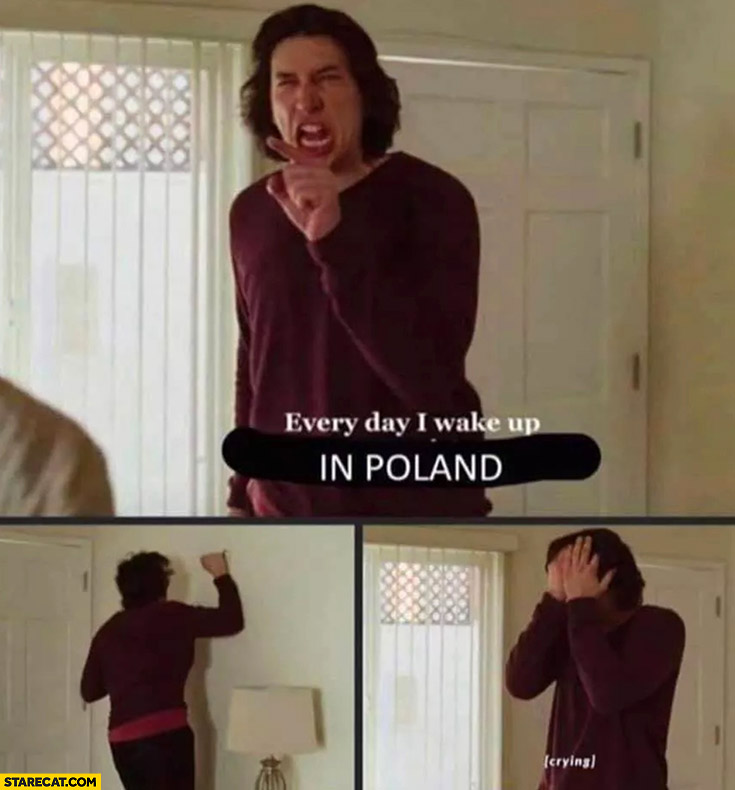Every day I wake up in Poland marriage story