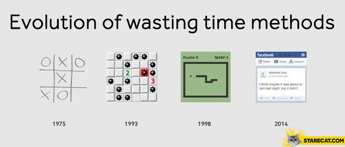 Wasting time methods years