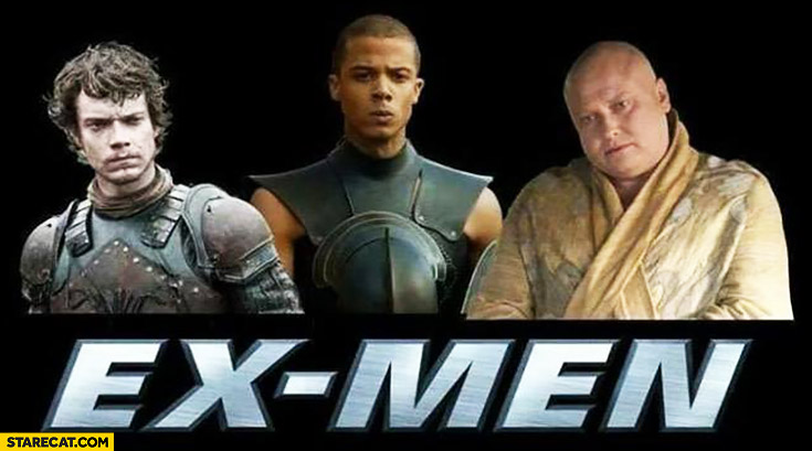 Ex-men dead deceased characters X-Men Game of Thrones