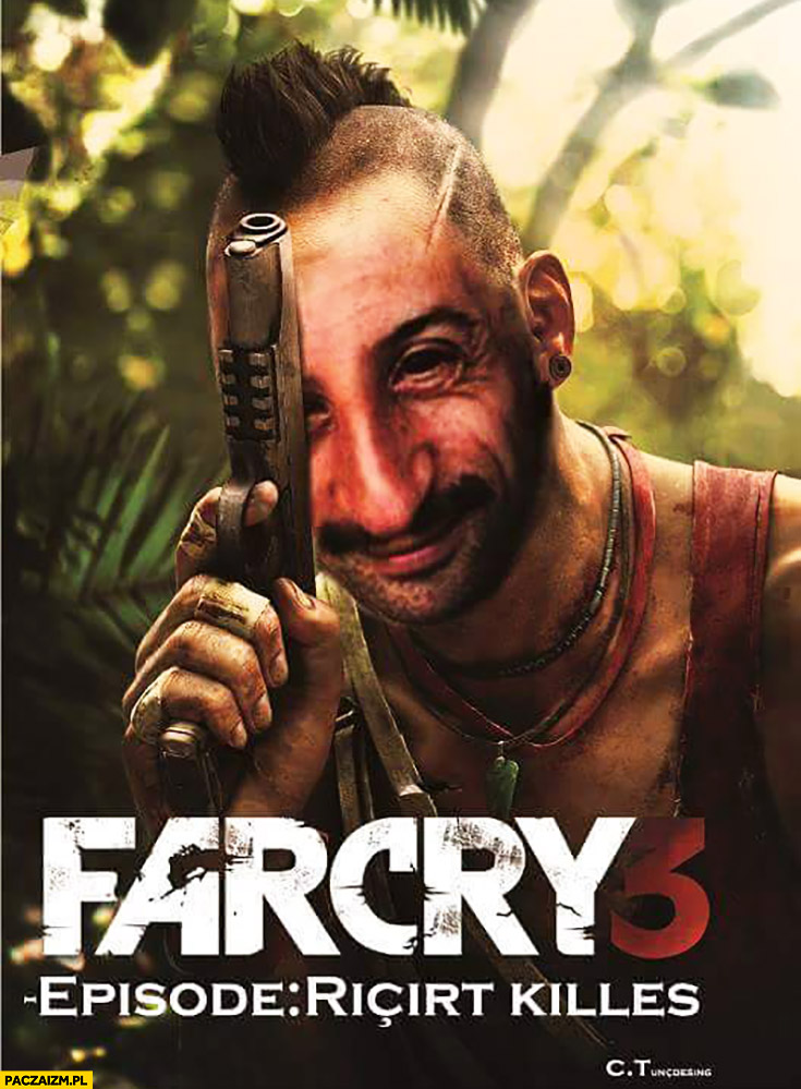 Farcry 3 Ricirt Killes photoshopped game cover