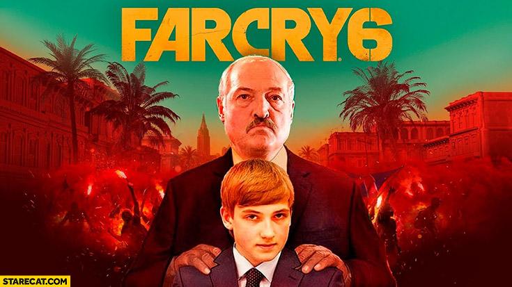 Farcry 6 Belarus Alexander Lukashenko
