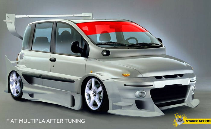 Fiat Multipla after tuning
