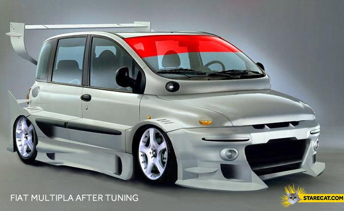 Fiat Multipla After Tuning Starecat Com