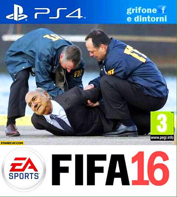 FIFA 16 FBI arresting