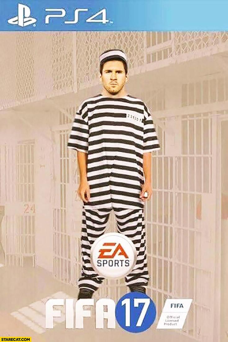 FIFA 17 Leo Messi prisoner 2017