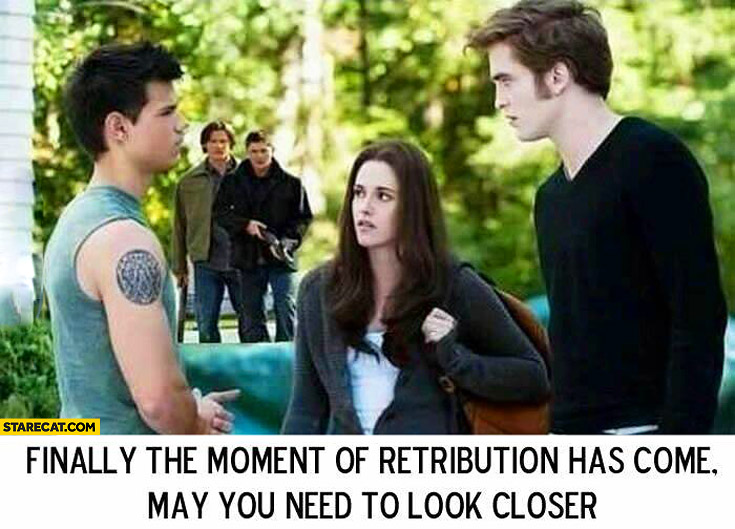 Finally The Moment Of Retribution Twilight Supernatural Starecatcom