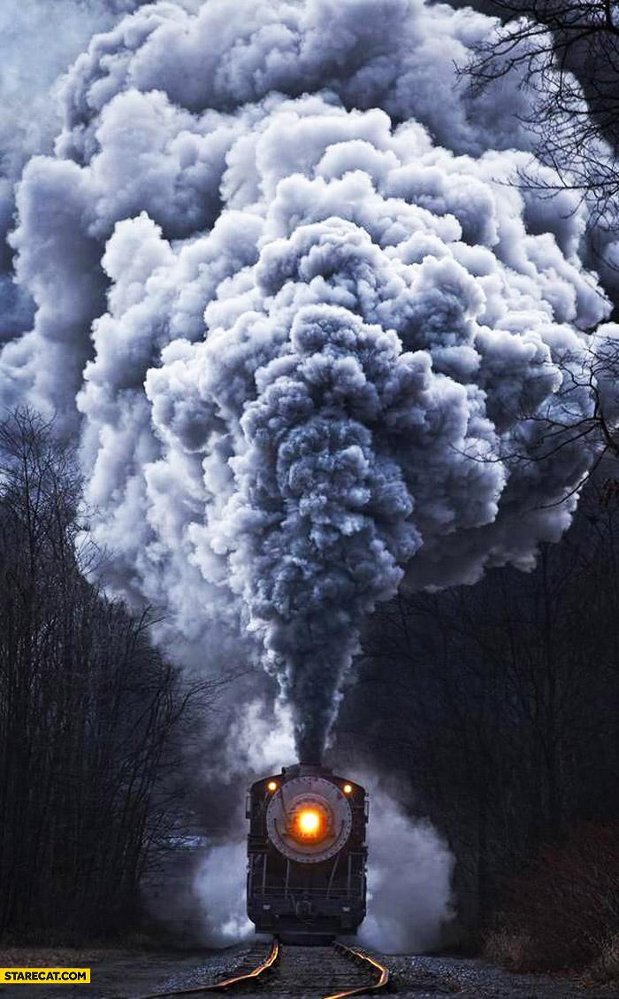 Fuming train
