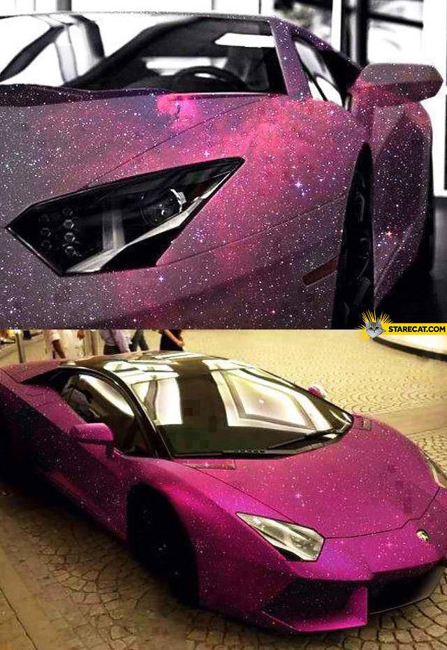 Galaxy Lamborghini Aventador