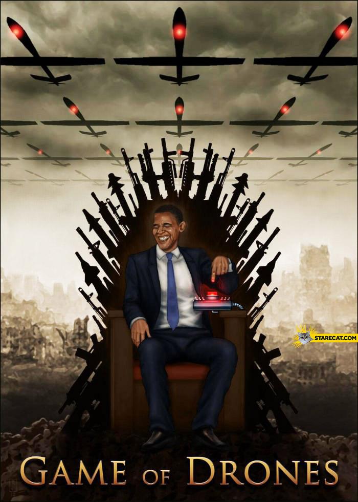 Game of drones Barack Obama