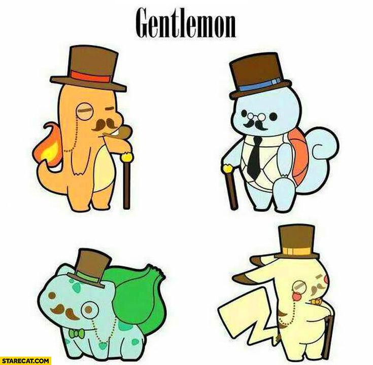 Gentlemon Pokemon gentleman