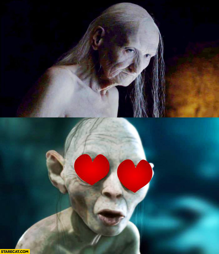 Gollum's new crush from Game of Thrones