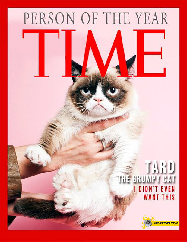 Grumpy Cat person of the year TIME magazine