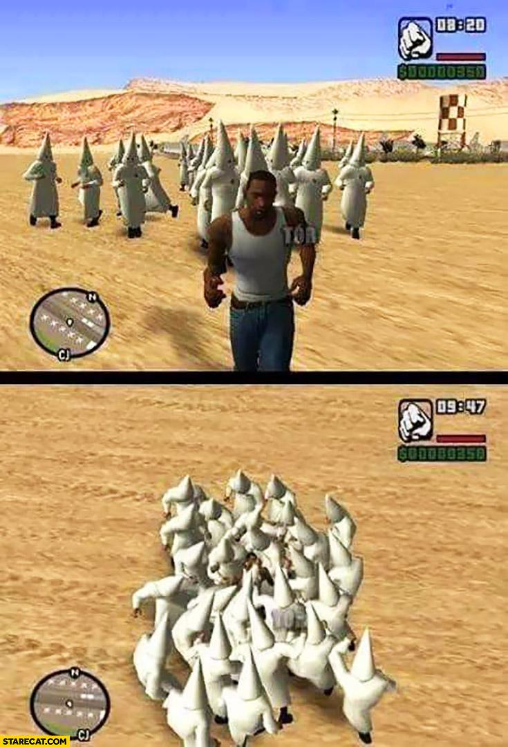 GTA Grand Theft Auto ku klux klan