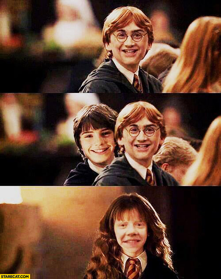 Harry Potter characters face swap