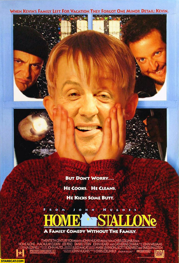 Home Stallone Kevin home alone Sylvester Stallone
