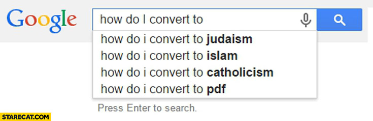 How do I convert to judaism islam catholicism pdf
