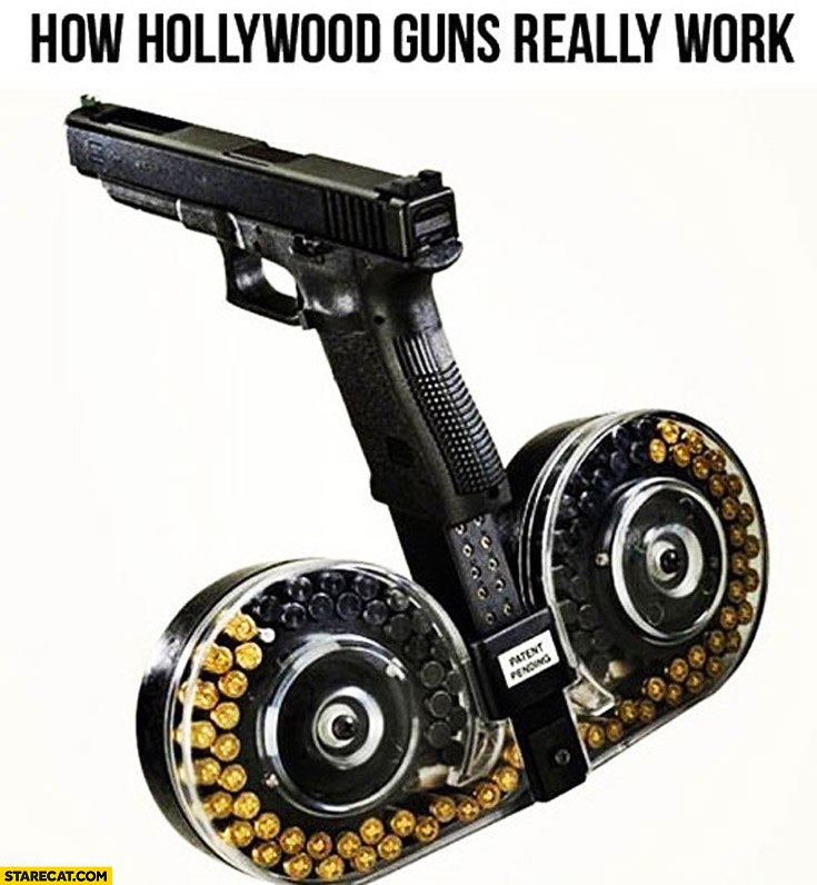 How hollywood guns really work infinite ammunition