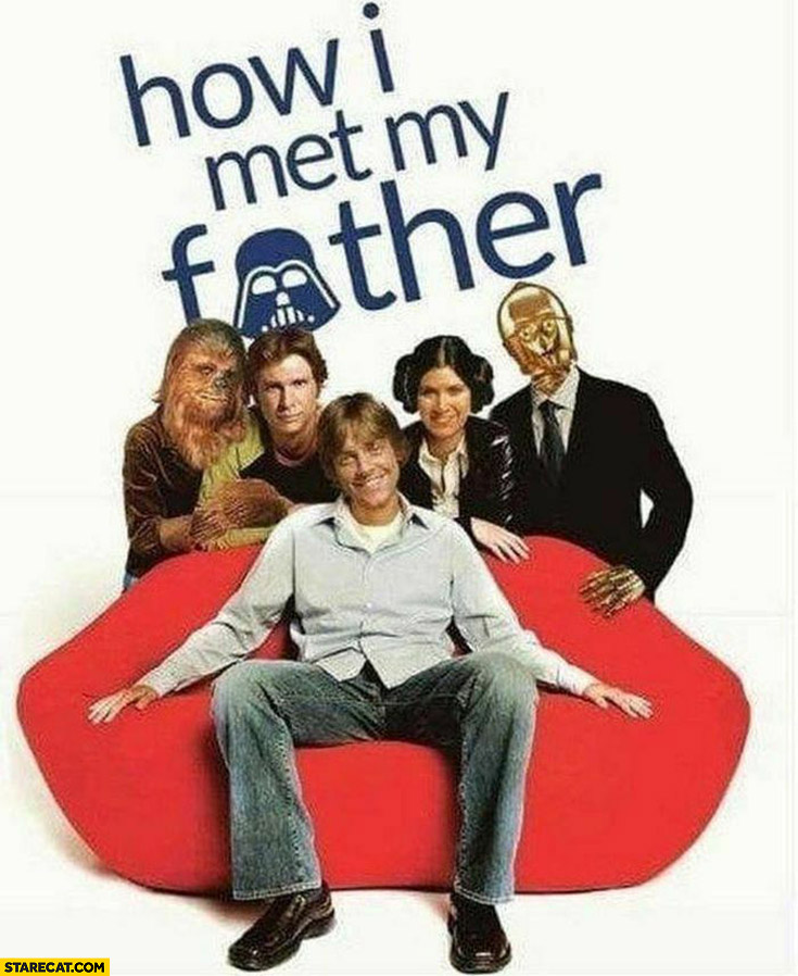 How I met my father Luke Skywalker Star Wars HIMYM how I met your mother