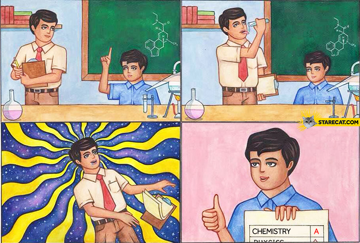 How to score chemistry A