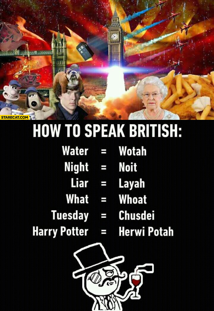 How to speak British English guide accent spelling words