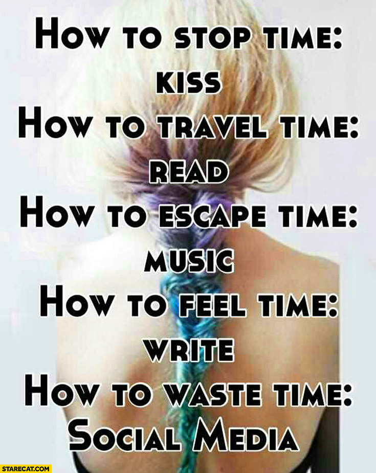 How to stop travel escape feel waste time