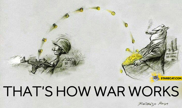 How war works?