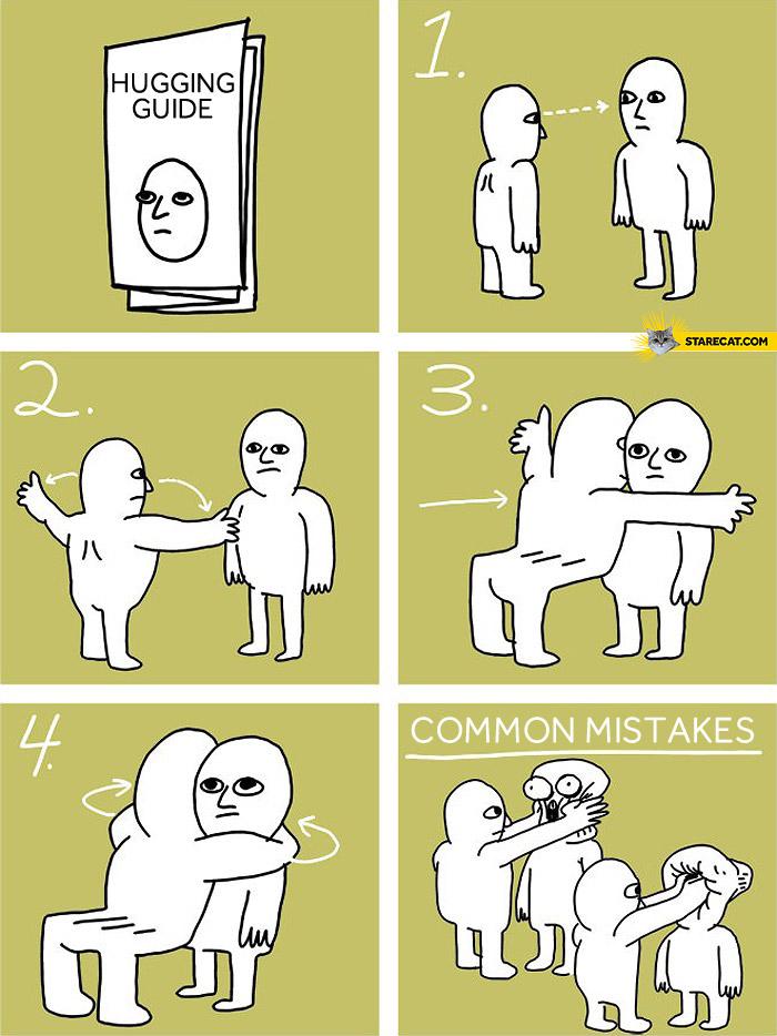 Hugging guide