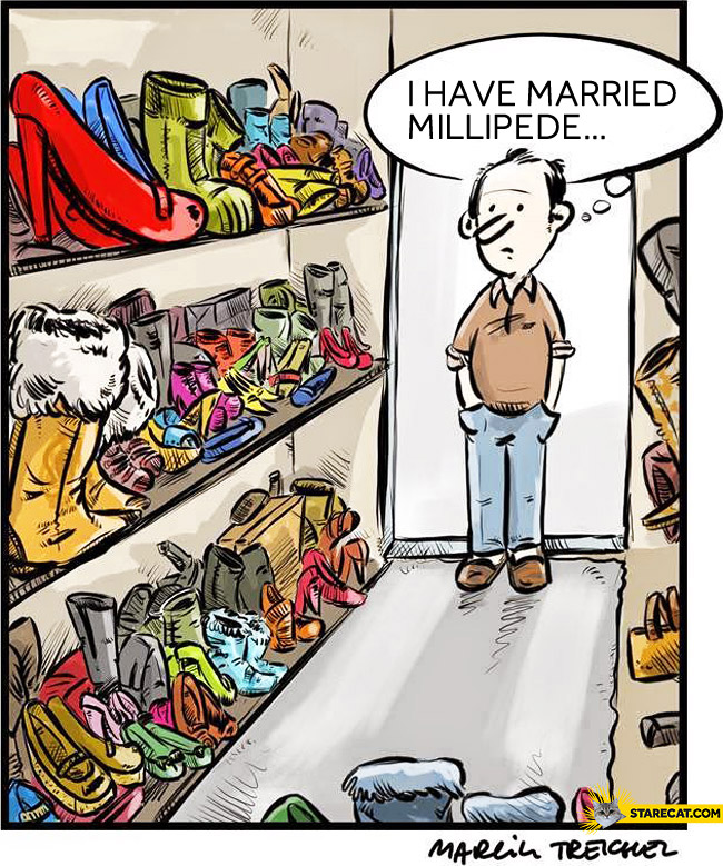 I have married millipede