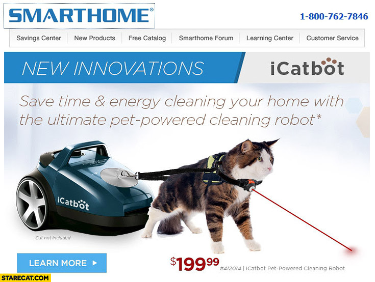 Icatbot Cat Cleaning Home Vacuum Cleaner