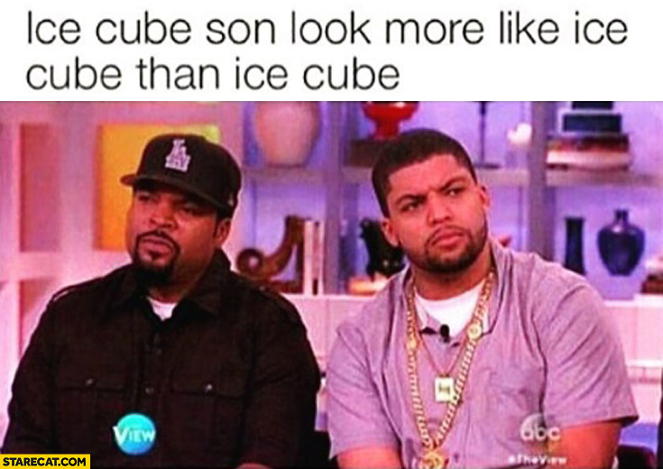 Ice Cube son look more like Ice Cube than Ice Cube