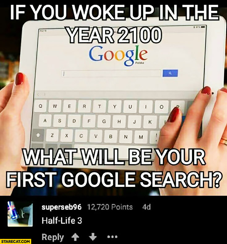 If you woke up in the year 2100 what will be your first