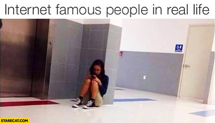 Internet famous people in real life