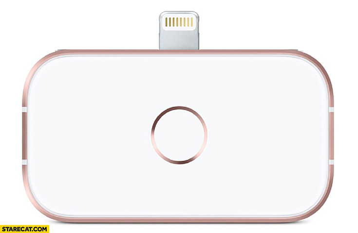 iPhone home button Apple accessory for iPhone X