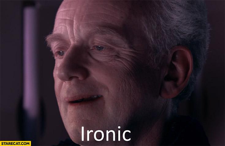 Ironic Star Wars reaction meme