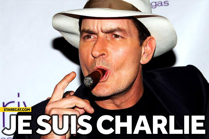 Je suis Charlie Sheen