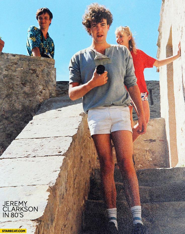 Jeremy Clarkson in 80s