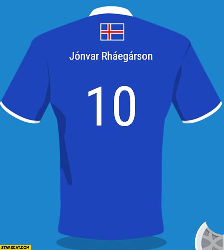 Jonvar Rhaegarson Iceland national football team Game of Thrones