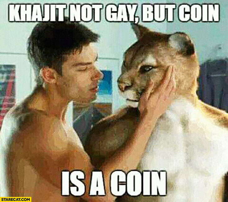 Khajit not gay but coin is a coin