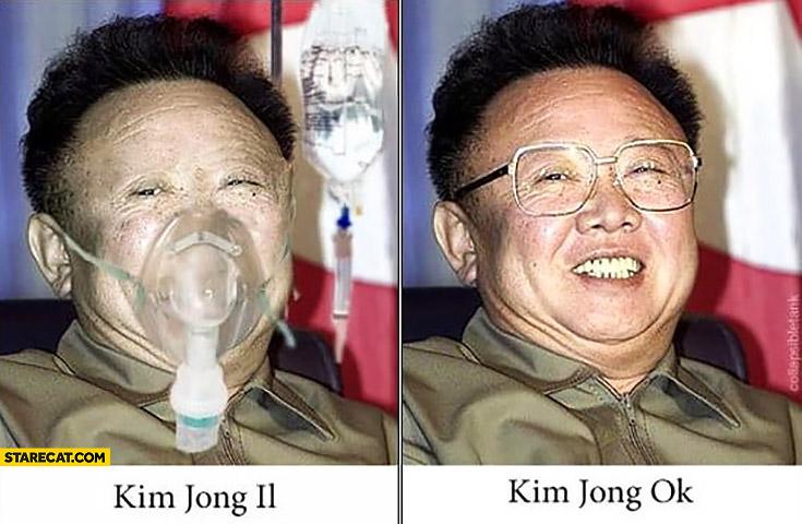 Kim Jong Il ill Kim Jong ok