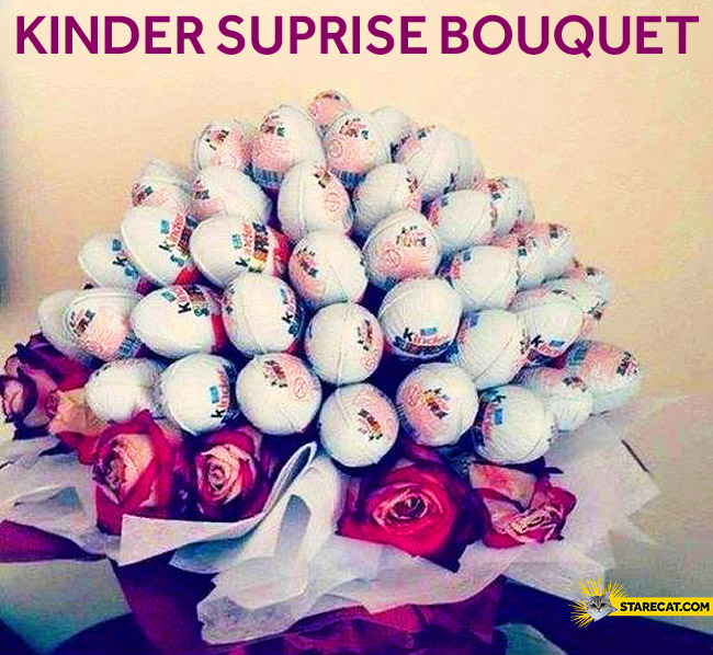 Kinder Suprise bouquet