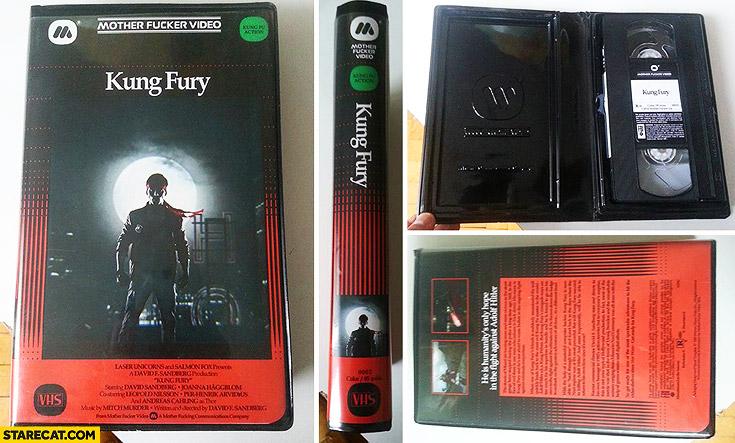Kung Fury VHS edition