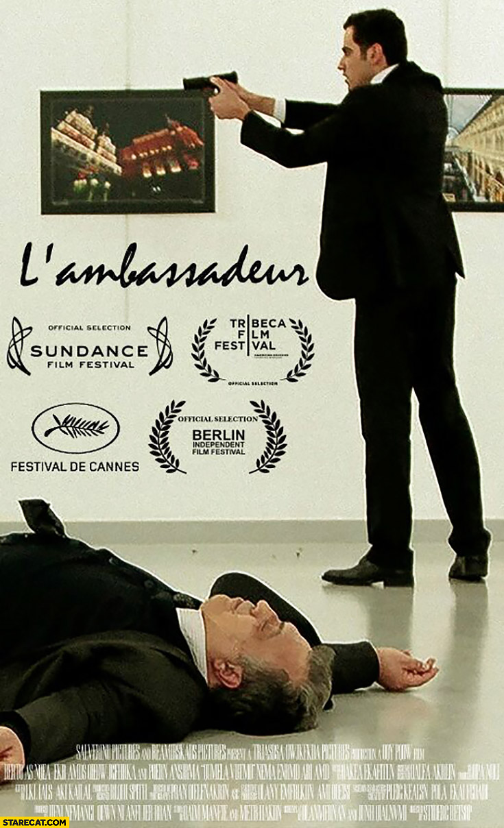 L'ambassadeur Russian ambassador shot movie poster