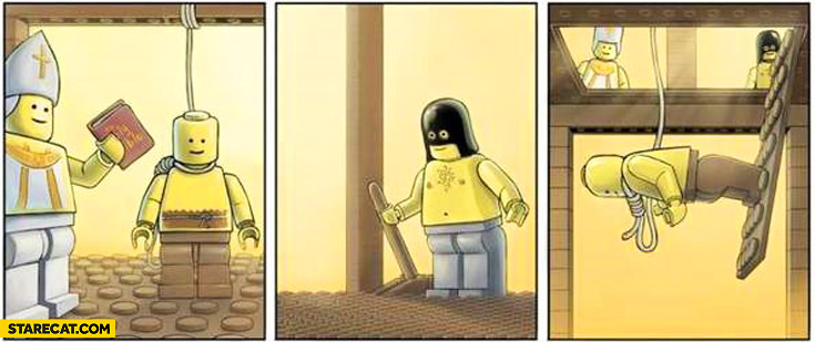 Lego execution fail
