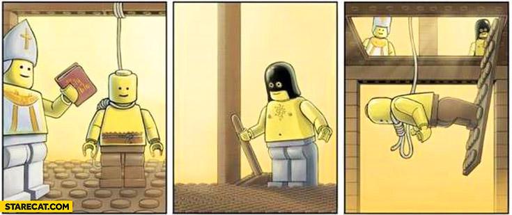 Lego execution fail