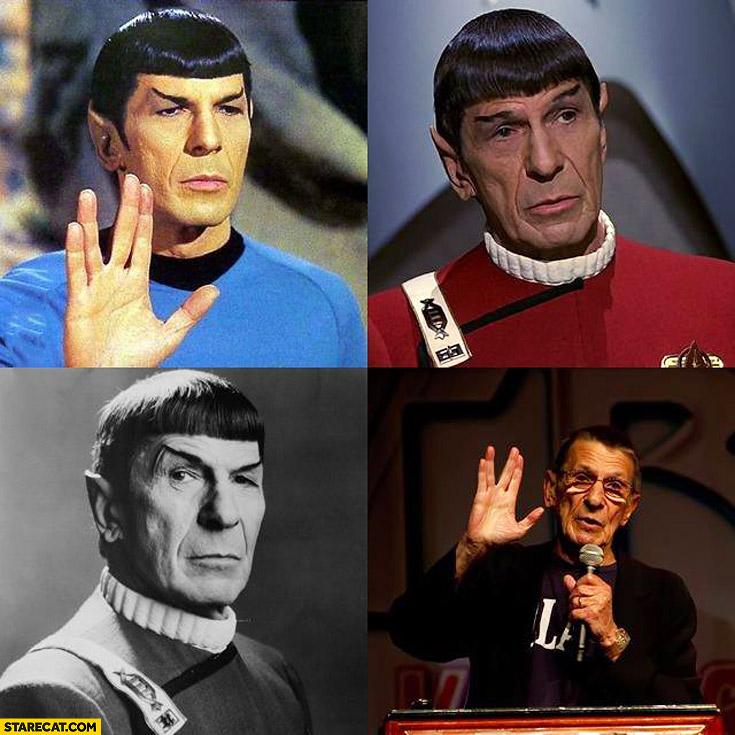 Leonard Nimoy Captain Spock