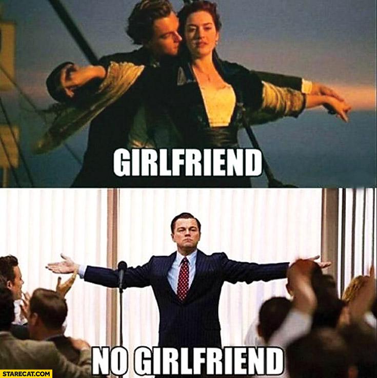 Leonardo DiCaprio girlfriend no girlfriend