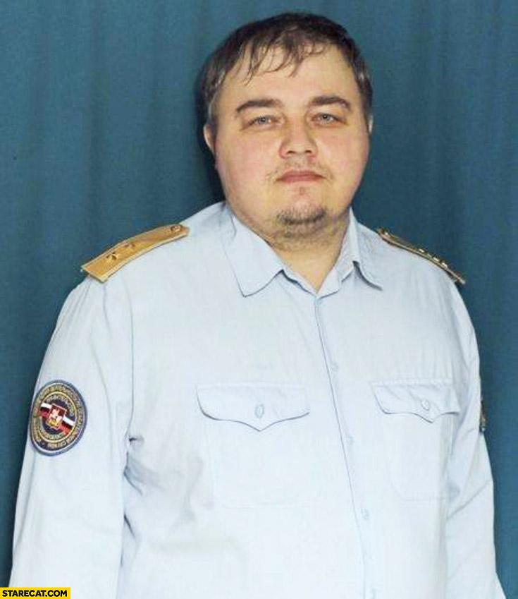 Leonardo DiCaprio lookalike doppelganger in Russia forces fat